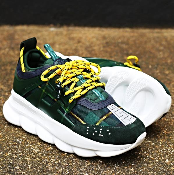 10 X Reaction Size 8 About Chainz Chain 2 Ship Versace Green 13 Details New Authentic 11 Now 9 QoeBCdWrx