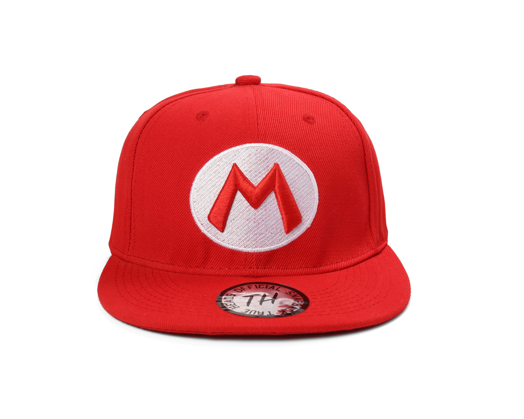483792f5f Details about True Heads Snapback Super Mario Red Baseball Cap