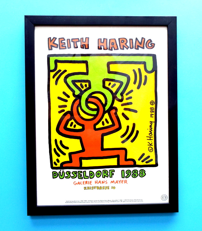 Keith Haring-Unitled -1995 Poster 1988
