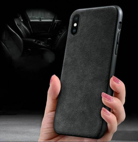 d727afb820f Details about Alcantara Suede Back Case Ultra Thin For Apple iPhone X, Xs,  XR, Max, 7/8, Plus