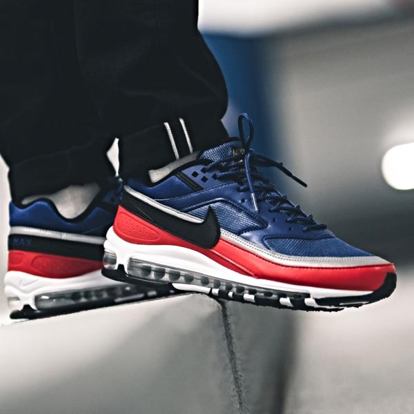 c583f3e0840 Nike Air Max 97 BW Deep Blue Red Size 7 8 9 10 11 12 Mens Shoes AO2406-400  Sean