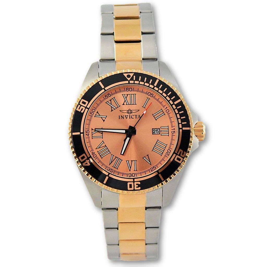 45217ee59 Invicta Men's Pro Diver Rose Gold-Plated Stainless Steel Watch 15001 ...