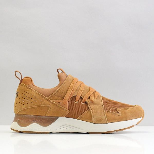 NUOVO Asics Uomo Gel Lyte V Sanze TR Suede Shoes Suricato Beige