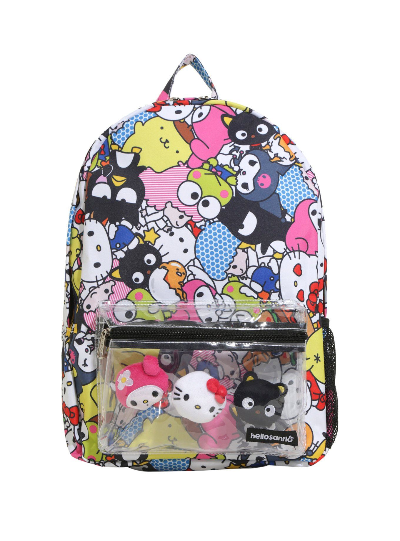 834ab982580 Official merchandise. Hello Sanrio Kitty Allover Character Backpack