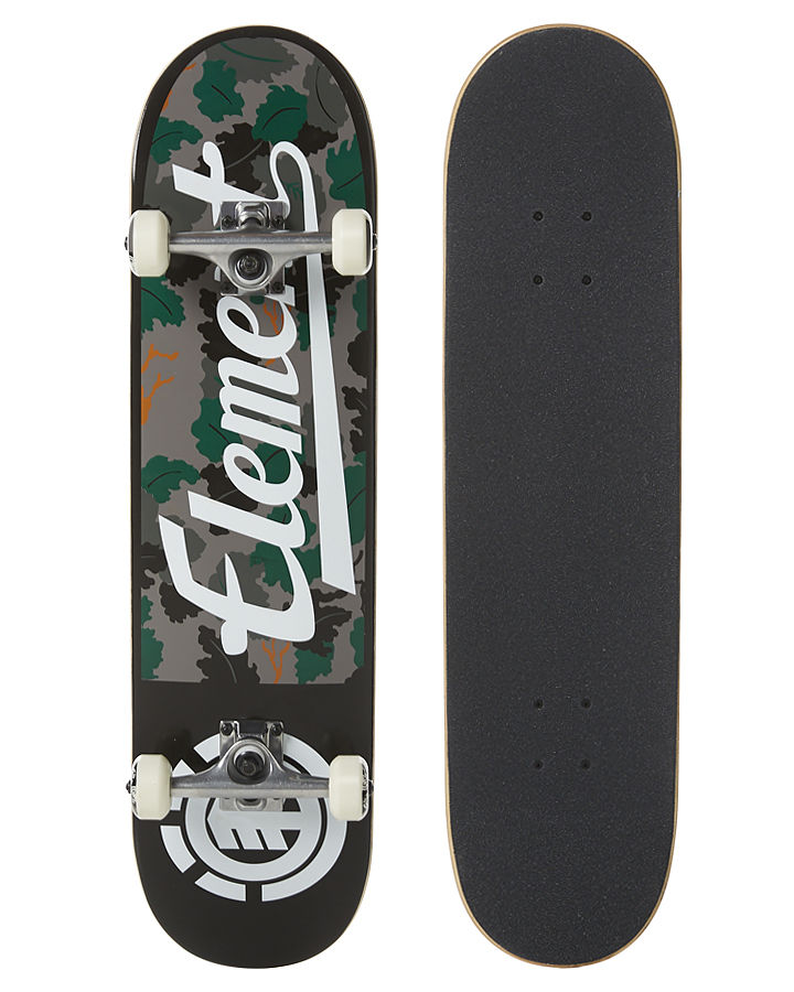 Element Skateboard Complete Wine Leaf Camo 8 Pre-Assembled FREE POST