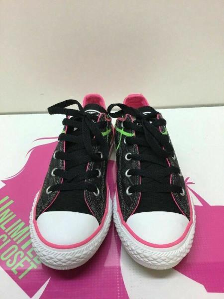 f9957cee04e7 Converse All Star Multi-Color Canvas With Quotes Low Top Shoes Girls ...
