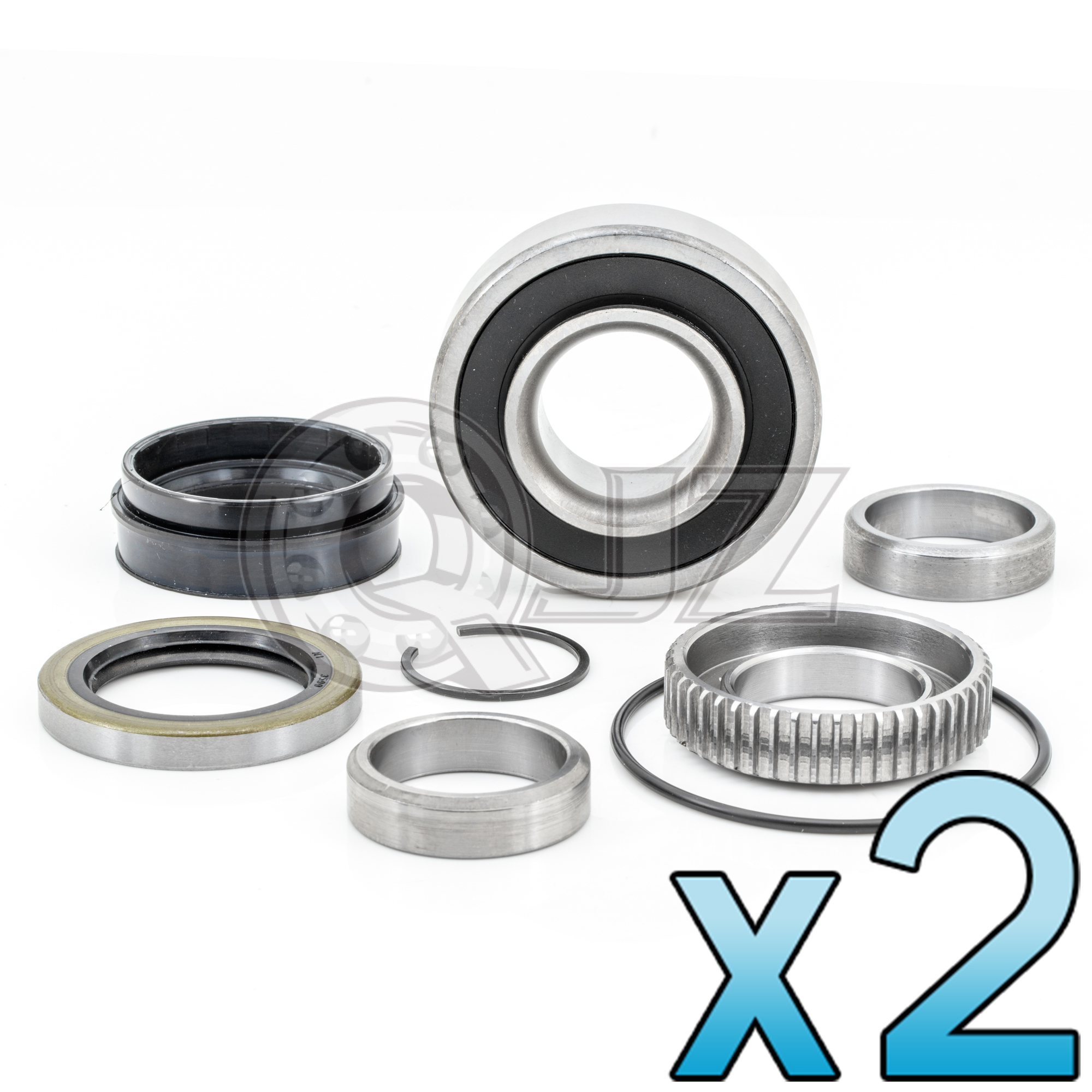 REAR WHEEL BEARING KIT W//ABS FOR TOYOTA 4RUNNER TACOMA TUNDRA RWD LEFT OR RIGHT