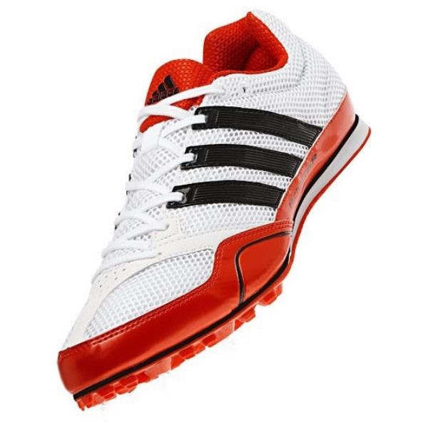 talla 40 estilo popular tecnologías sofisticadas ADIDAS Techstar Allround 2 Track Spikes Shoes White Orange Black ...