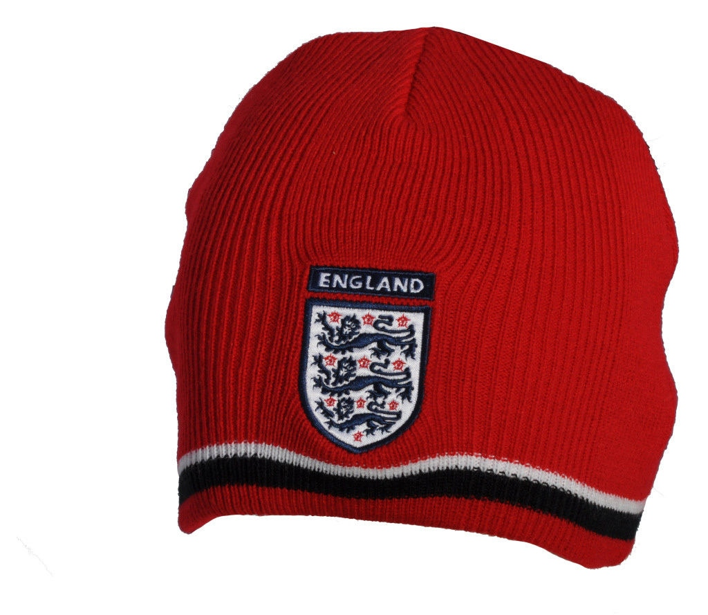 Details about England Football Red Offical FA World Cup 2014 Beanie Hat  (bh204) 891c26410a5