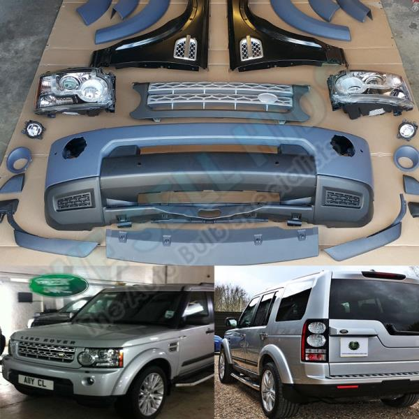 Sold Land Rover Discovery 3 Discov: LAND ROVER DISCOVERY 3 TO DISCOVERY 4 CONVERSION BODY KIT