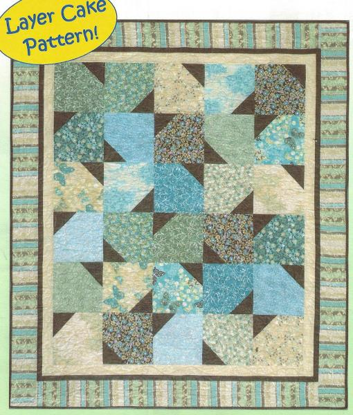 Butter Cake Quilt Pattern Layer Cake Therapy Wall Baby Throw Twin