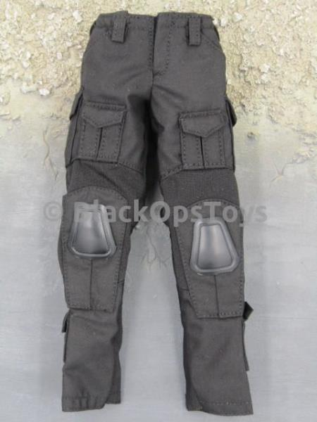 1//6 Scale Toy Female Tactical Shooter Black Crye GEN2 Combat Uniform