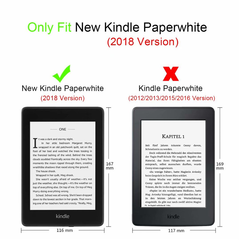 Details about Premium Ultra Thin Folio Case Cover for All-new Kindle  Paperwhite (2018 - 2019)