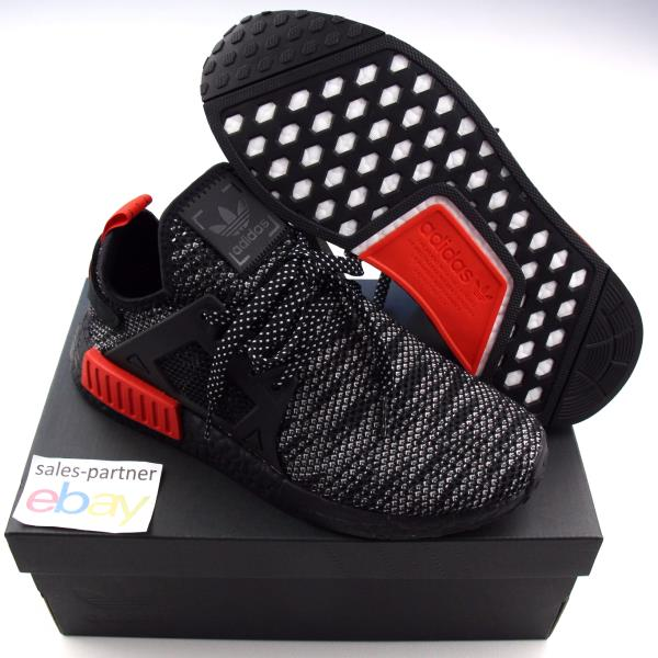 online store 053be cb2a0 Details about ADIDAS NMD XR1 TRIPLE BLACK RED LIMITED SIZES 4-12 BOOST  ULTRA PHARRELL ZEBRA