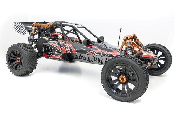 details about 1/5 scale king motor evo brushless electric buggy hpi baja 5b  flux compatible !