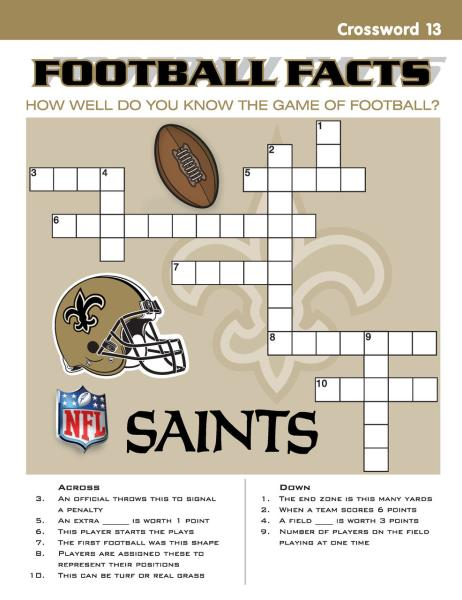 191bfe55 Details about New Orleans Saints NFL Kids Sports Activity Book Coloring  Stickers Puzzles Games