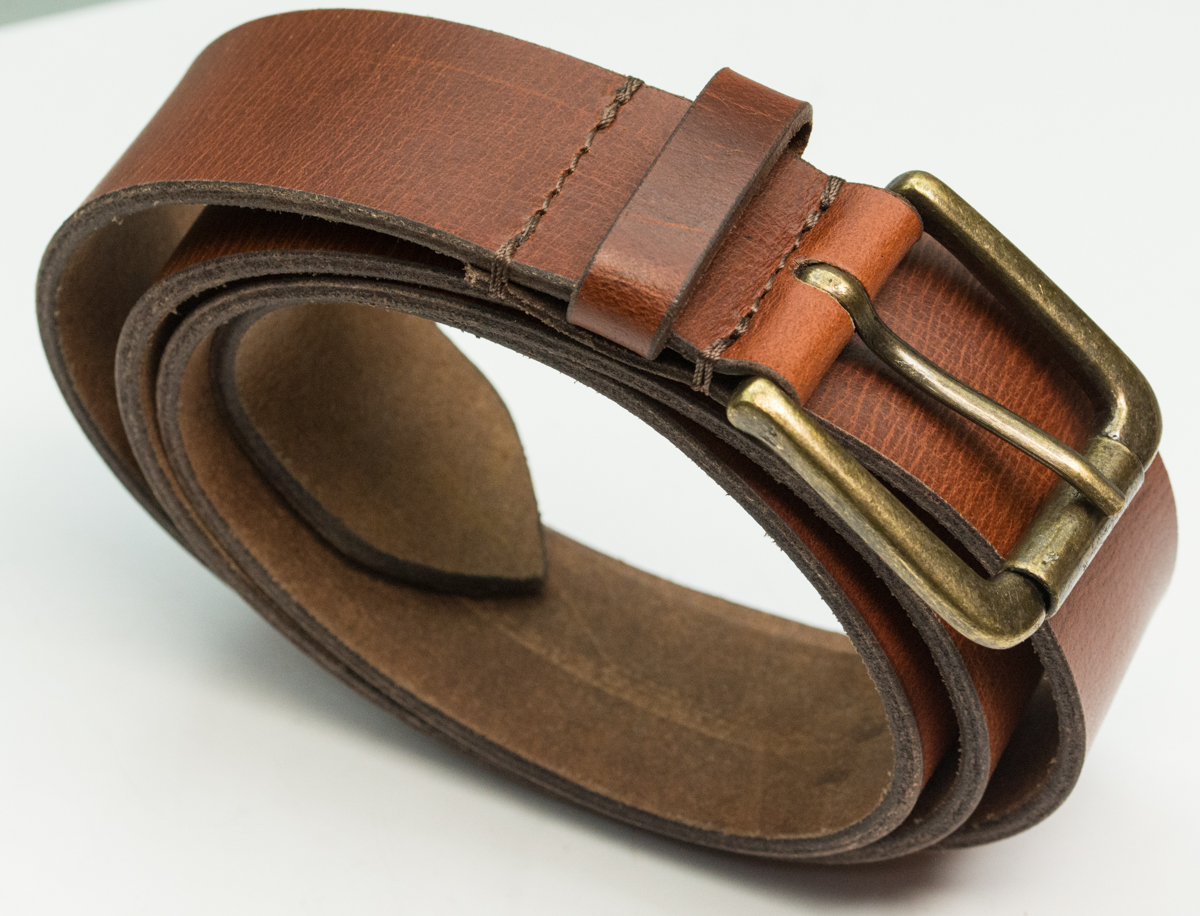 1-1//2 New Tan Color Western Casual Jean Vintage Leather Belt
