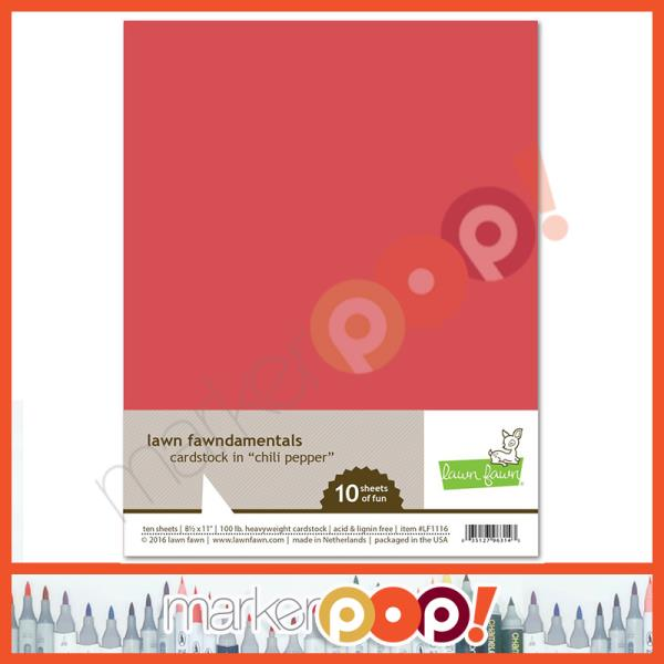 Lawn Fawn Shimmer Cardstock 8.5x11 Pack of 10 Sheets Pastel LF2180 5 Colors
