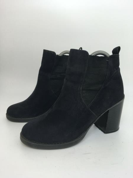WOMENS DOROTHY PERKINS BLACK FAUX SUEDE
