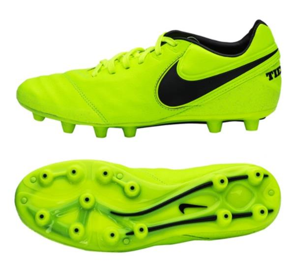 best sneakers fcf78 5edf4 Details about Nike Men Tiempo Legacy II HG-E Cleats Soccer Green Shoes  Spike 819219-707