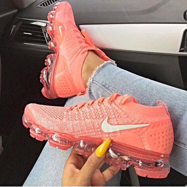 separation shoes 4be86 06f44 Details about NIKE WMNS AIR VAPORMAX 2.0 PULSE/SAIL-CORAL FLYKNIT Size 6 7  8 9 10 Women Shoes