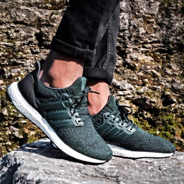 separation shoes 97b62 b5854 Details about adidas UltraBOOST 4.0 Night Green pk primeknit size 7-13 mens  ships now nmd og