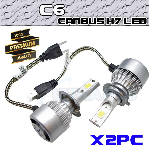 Details about 2x C6 CANBUS H7 LED HEADLIGHT KIT BMW AUDI FIESTA A4 A3  Mercedes HID