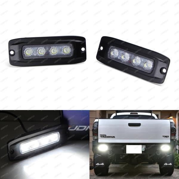for truck jeep offroad atv 4wd 4x4 in front as fog lights driving drl lamps search light or headlight and at the back as backup reverse lights
