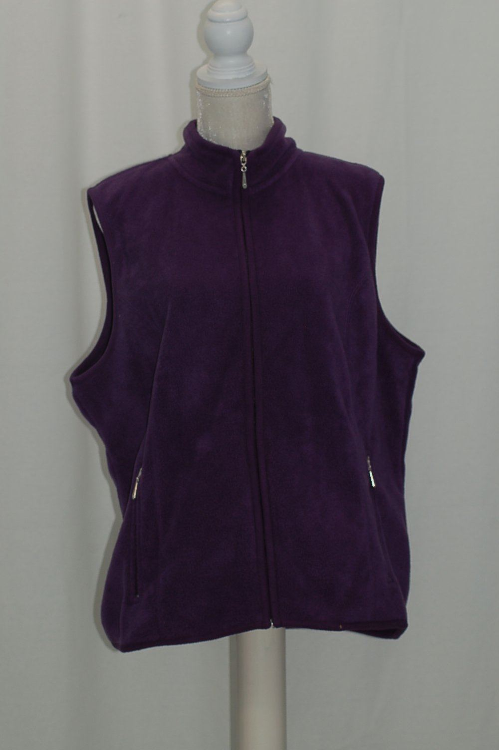 c0791993c3b KAREN SCOTT ZEROPROOF FLEECE VEST CASSIS XL 706258419167