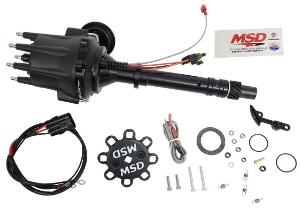 Details about MSD Ignition Pro-Billet Ready-To-Run Distributors Chevy V8  Black 83603