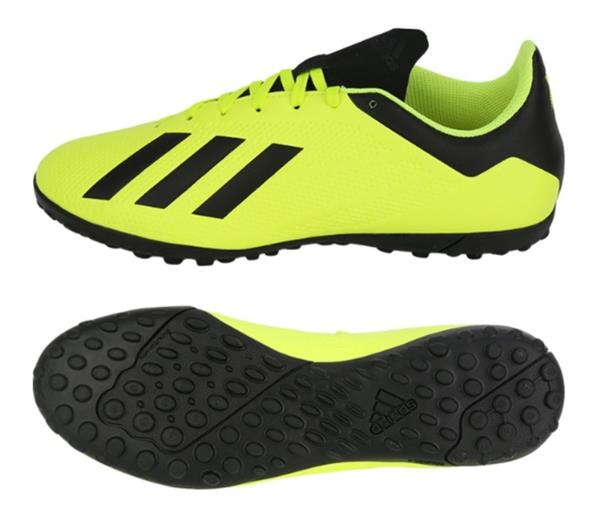 Impermeable músculo Lengua macarrónica  Adidas Men X Tango 18.4 TF Cleats Futsal Lime Black Shoes Boots Spike  DB2479 | eBay