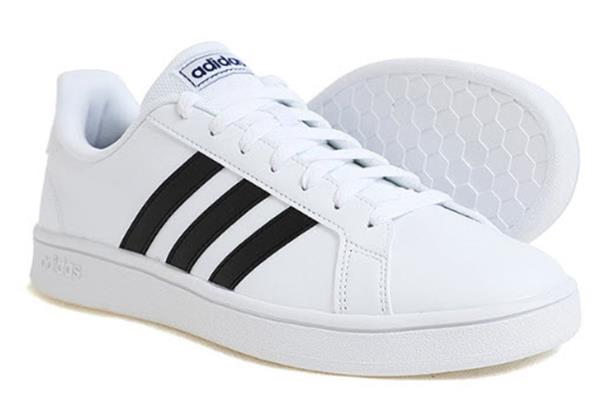 Details about Adidas Men Grand Court Base Shoes Running White Sneakers Casual Shoe EE7904