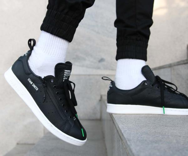 a7d3a4eda20cf4 Adidas Consortium Stan Smith Sneaker Core Black Size 8 9 10 11 12 Mens NMD  Boost. 100% AUTHENTIC OR MONEY BACK GUARANTEED