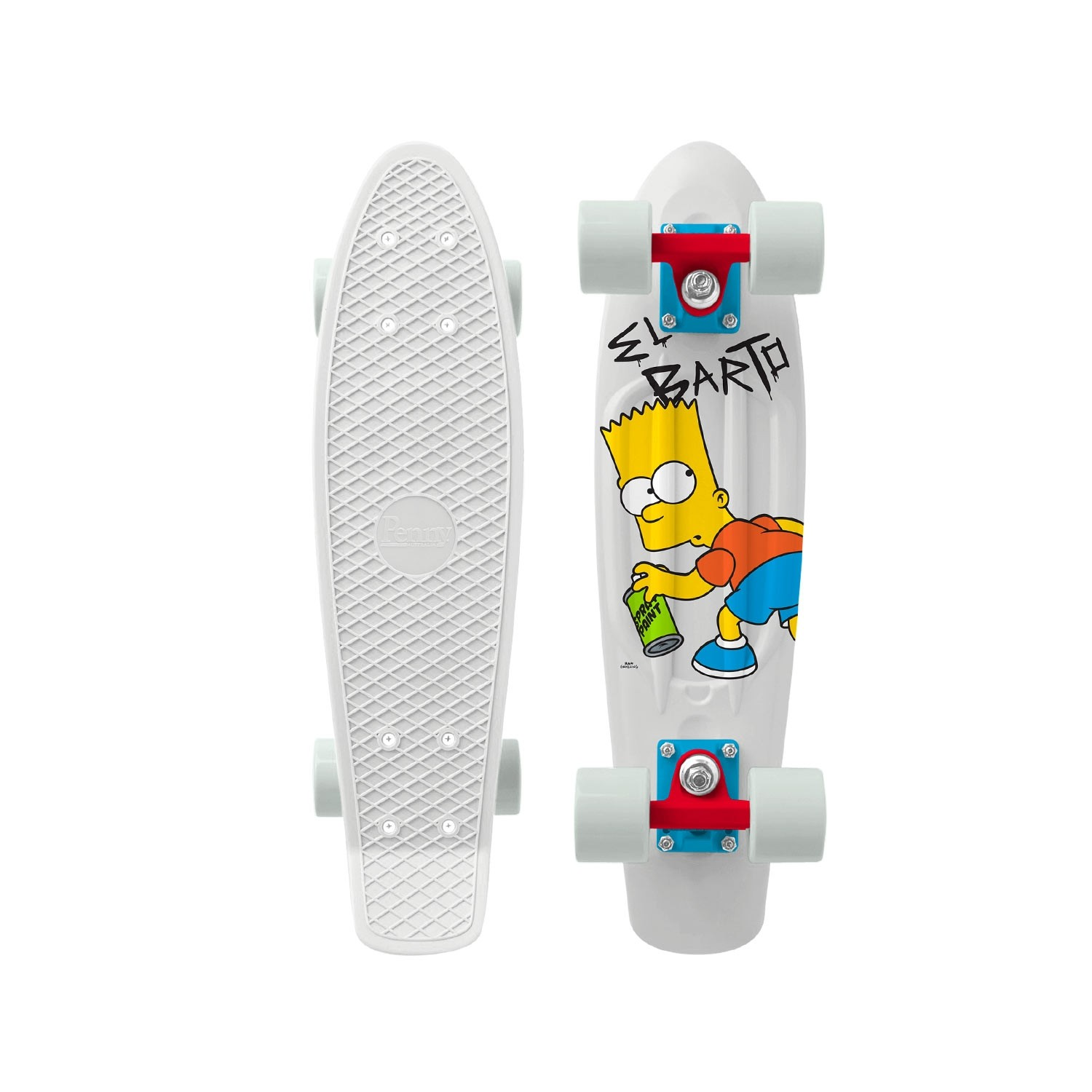 Penny x Simpsons Skateboard Complete El Barto 22 inch RRP $160 FREE POST NEW