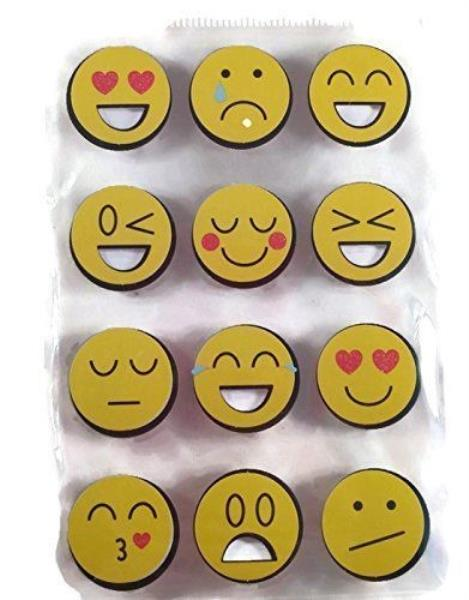 Smiley face emoji text