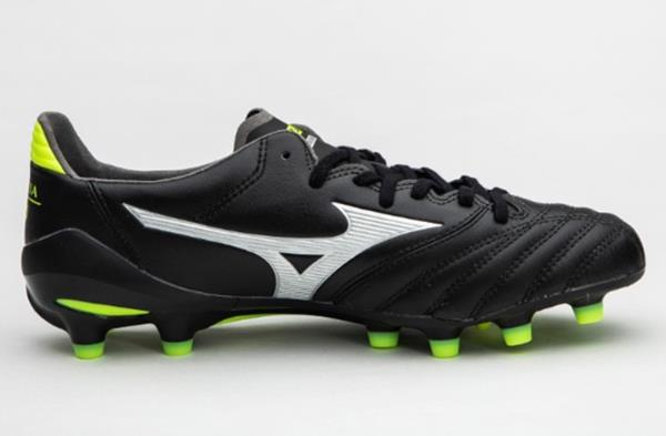 detailed look 5cda5 96aac Mizuno Soccer Shoes feature Lightweight, strategically placed mesh enhances  airflow for optimal comfort and breathability.