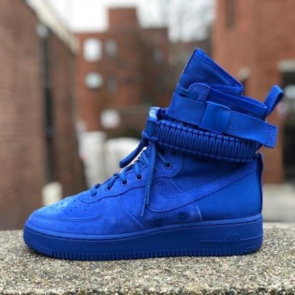 c704ec3c443d Details about Nike SF Air Force 1 Sneakers Game Royal Size 7 8 9 10 11 Mens  Shoes New