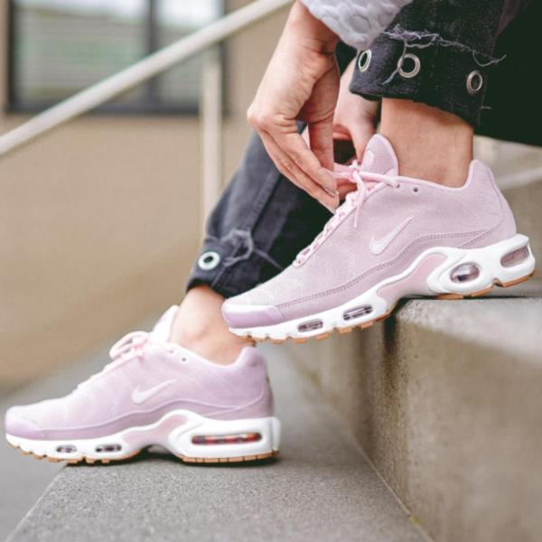 best service dea19 2445f Details about Nike Air Max Plus Premium Pink Size 6 7 8 9 Womens Shoes  CD7060-600 Force Presto