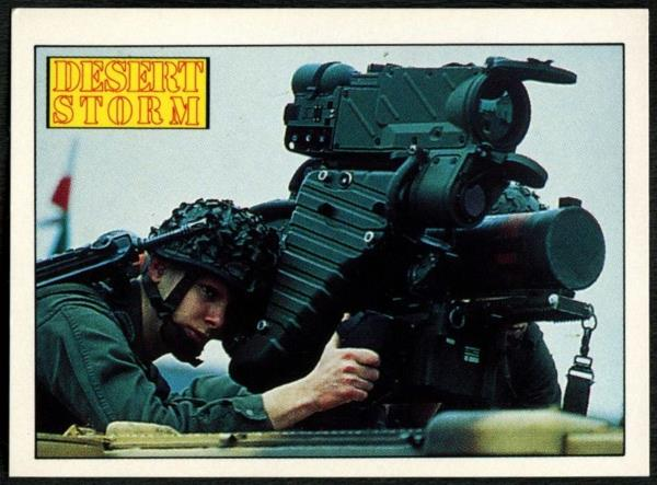 C959 LRAC Anti-Tank Weapon #94 Desert Storm 1991 Merlin Sticker