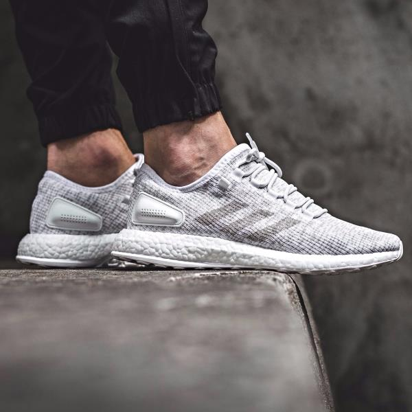 new style 1b42c bd059 Details about ADIDAS PURE BOOST WHITE LTD RUNNER SIZE 7 8 9 10 11 12 NMD y3  ULTRA S81991