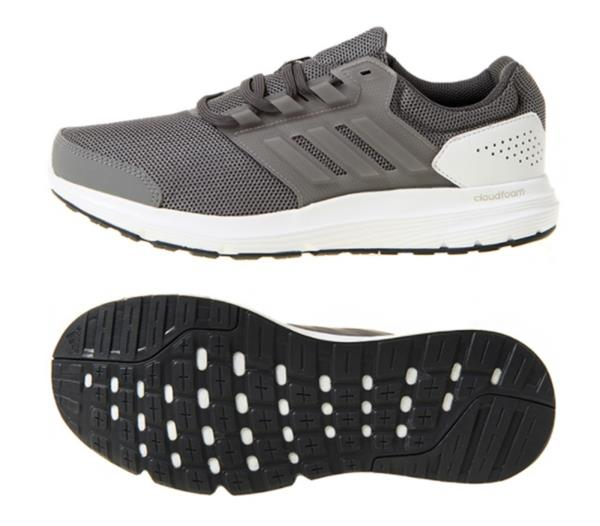 on sale d90d0 c5318 Details about Adidas Men Galaxy 4 M Cloudfoam Training Shoes Running Gray Sneakers  Shoe BB3567