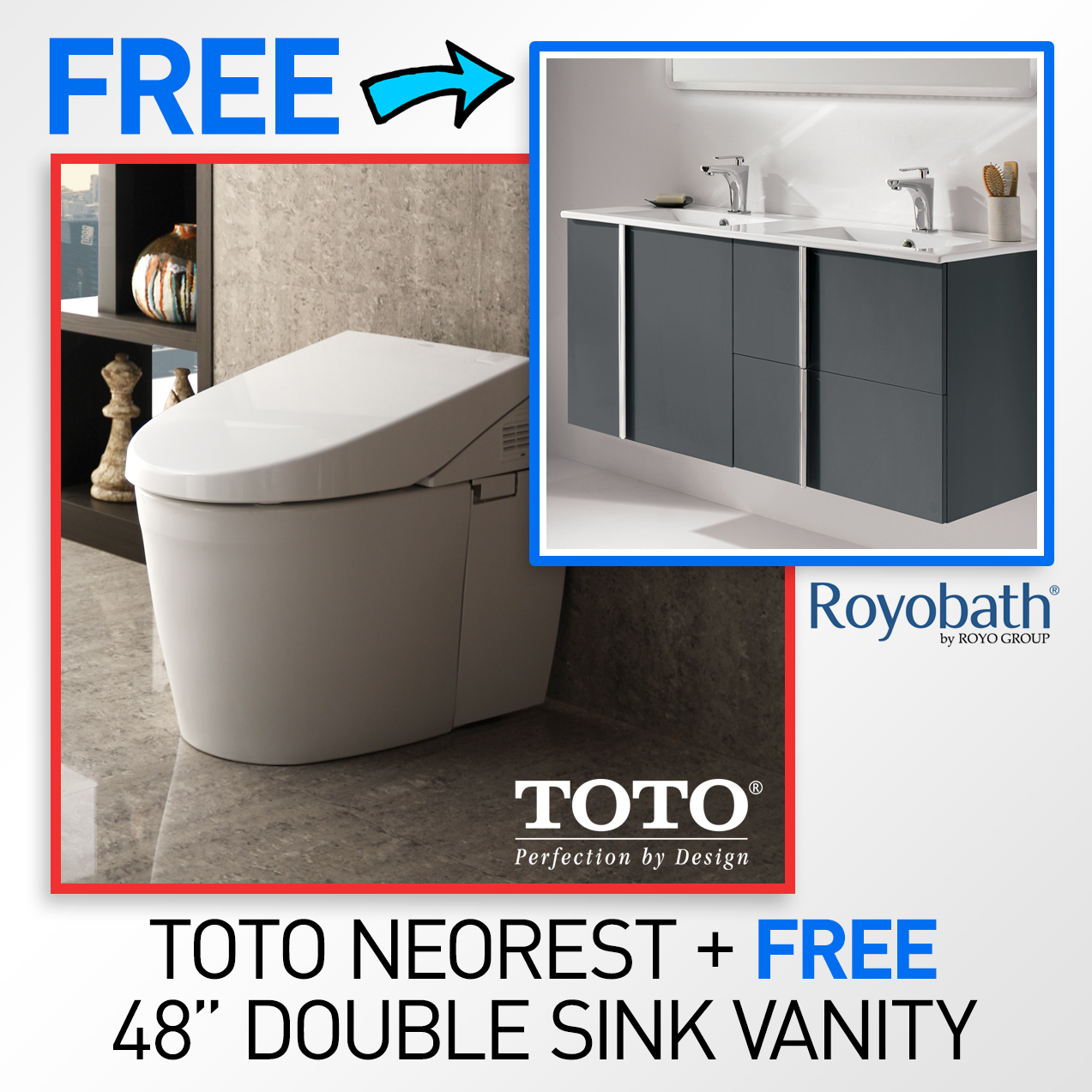 TOTO MS982CUMG#01 Neorest 550H Toilet & FREE 48\