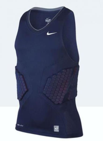 1b5e79c3d0e95d Details about NIKE PC Vis Deflex 2.0 Padded Navy Basketball Compression  Tank Top Mens XL 2X 3X