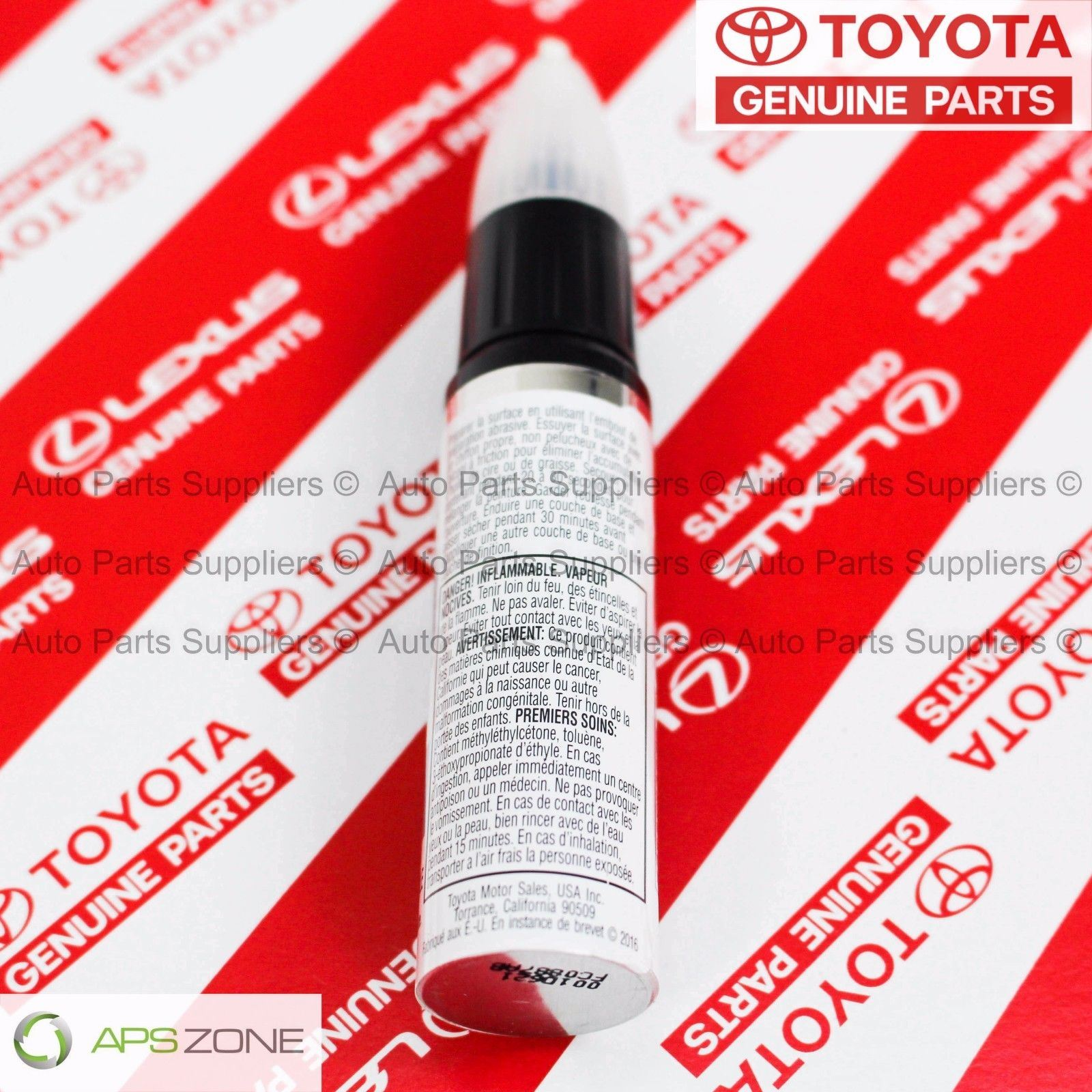 p gray duplicolor toyota s magnetic code for up scratch touch paint fix