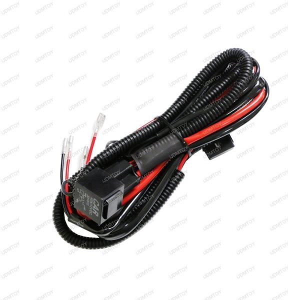 381255085841 1_600 12v horn wiring harness relay kit for car truck grille mount blast  at fashall.co