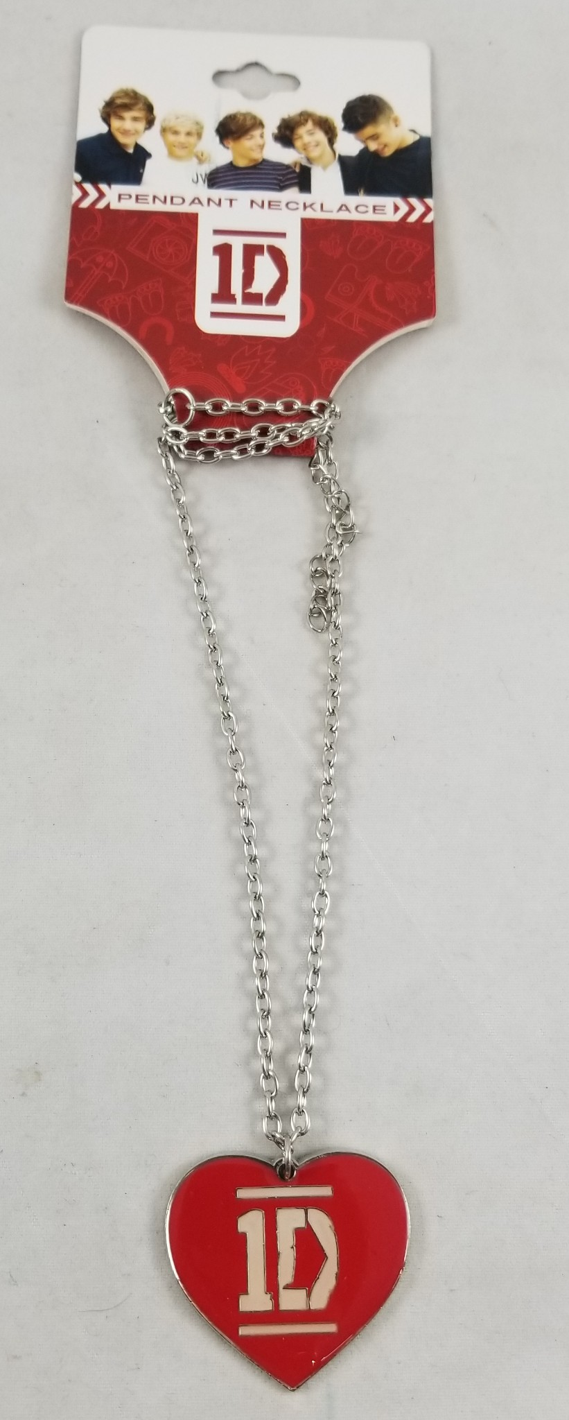One**direction ** LOVE **   Direction Heart 1D Bow necklace
