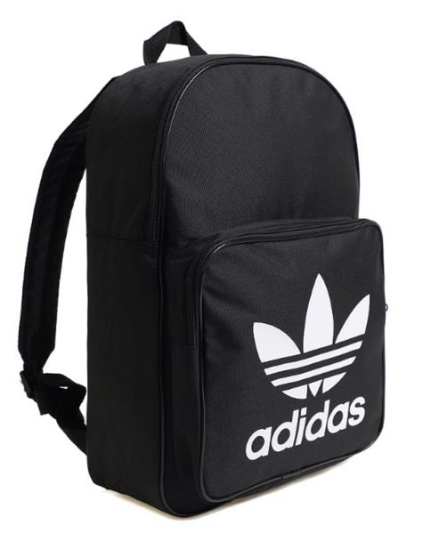 Details about Adidas CLASSIC Trefoil Backpack Bags Sports Black Casual School GYM Bag DW5185