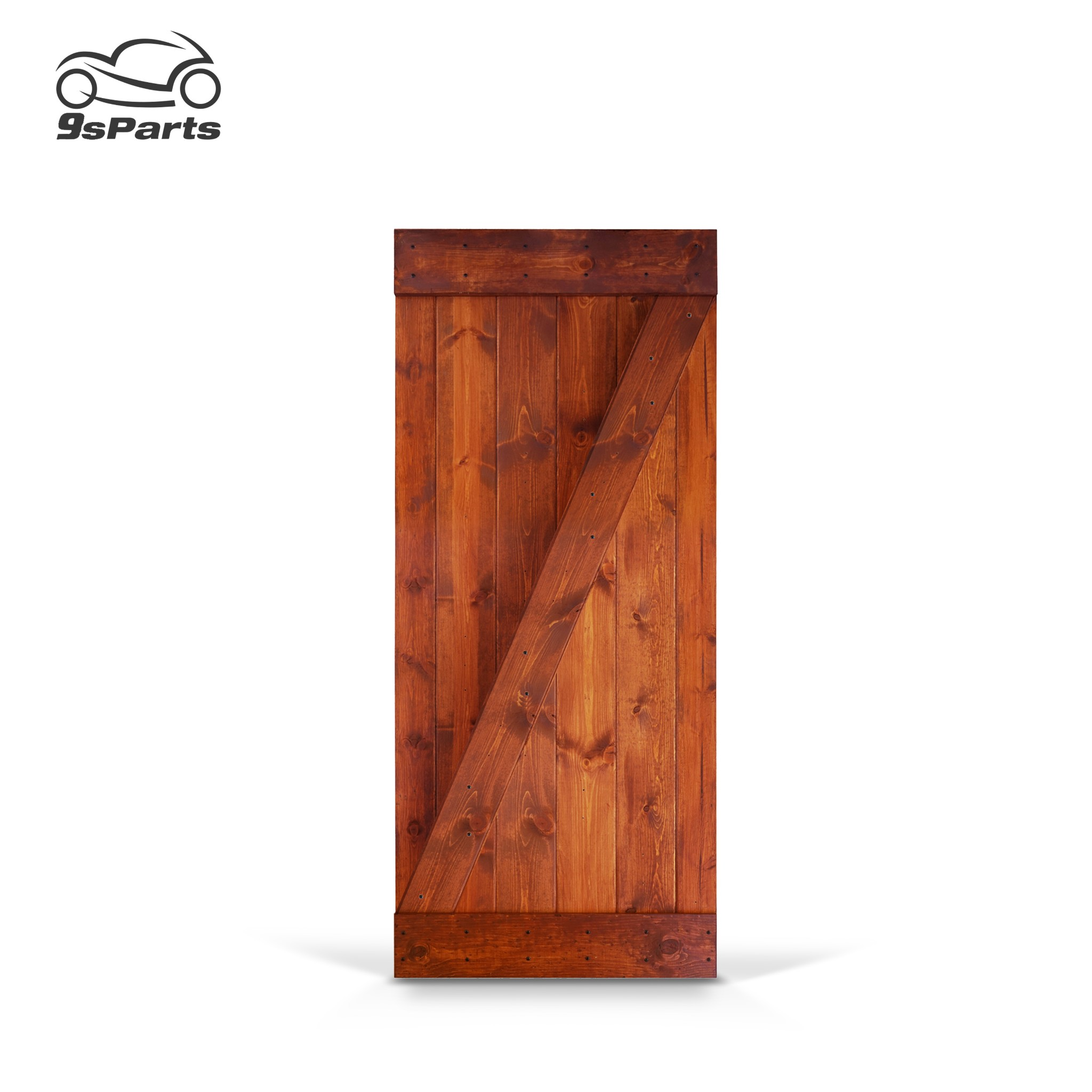 how to fix large hole in wood door