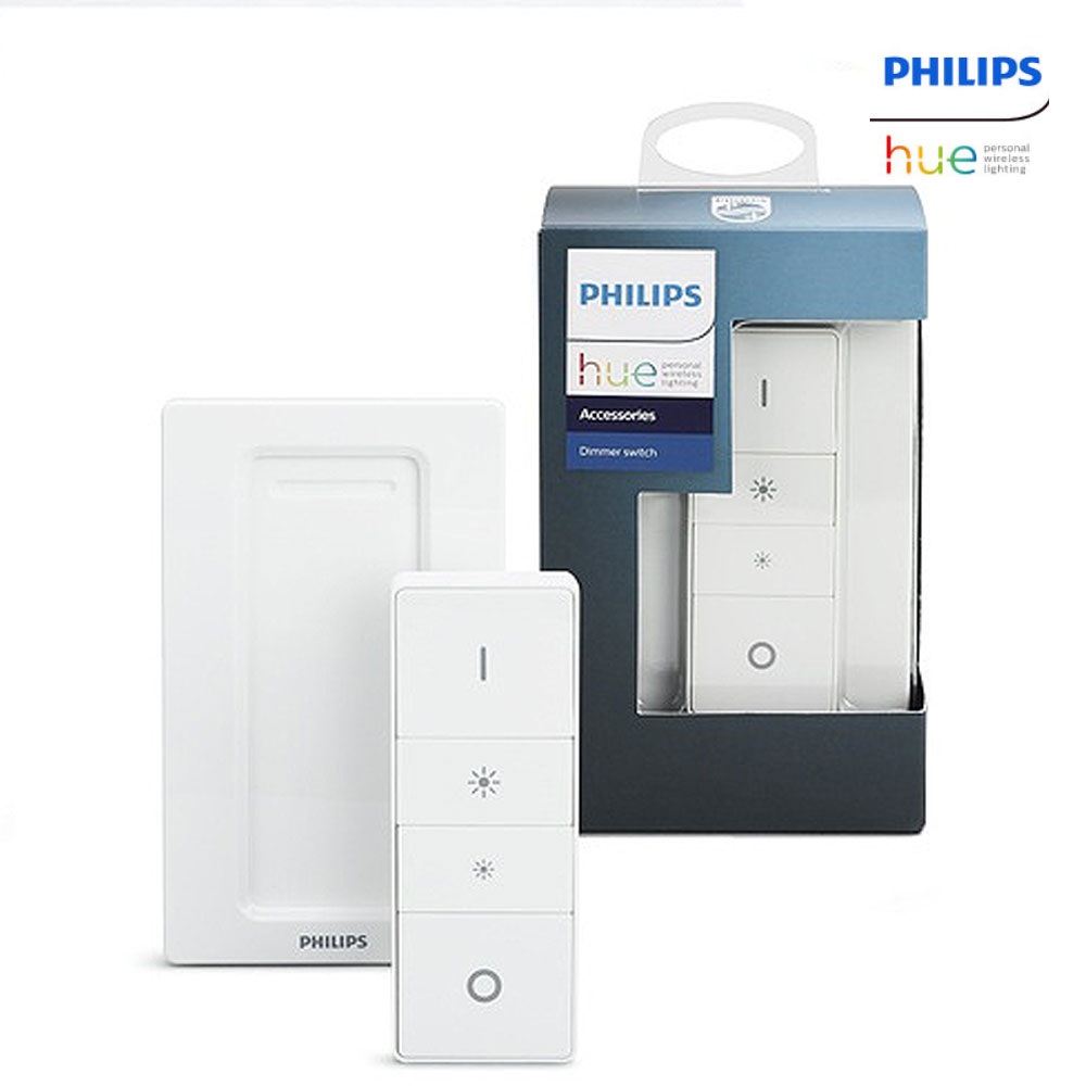Philips Hue Dimmer Switch Smart Wireless Led Lighting Remote Control Controlled Lightdimmer