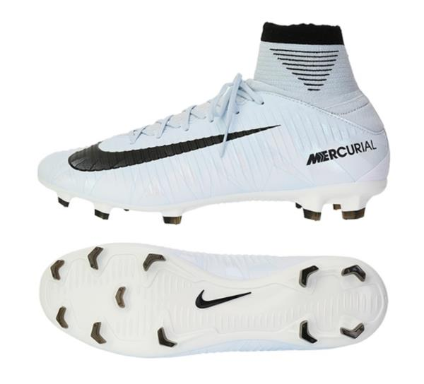 outlet store c8828 ea34f Details about Nike Men Mecurial Veloce III CR7 FG Cleats Soccer White Shoes  Spike 852518-401